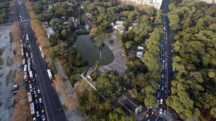 El predio del Zoo ocupa 18 hectáreas en Palermo