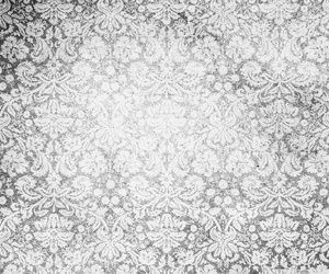 Vintage Pattern Black And White Wallpaper
