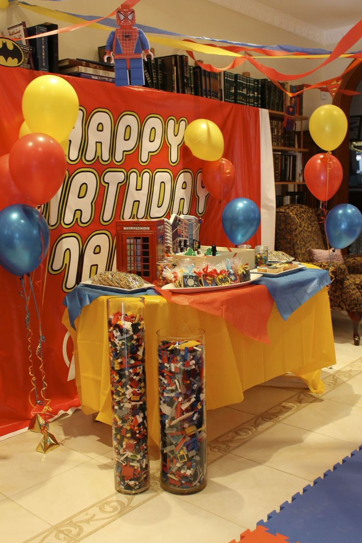 Birthday Party Ideas For 7 Year Old Boy At Home Best 897 1st Themes The Busy Bird Super Hero Coh Is THREE T