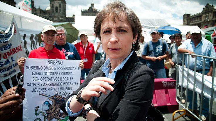 """La emisora mexicana MVS Radio anunció este domingo en un comunicado que """"da por terminada la relación de trabajo"""" con Carmen Aristegui, la periodista que reveló en noviembre la existencia de una millonaria propiedad de la esposa de Enrique Peña Nieto."""