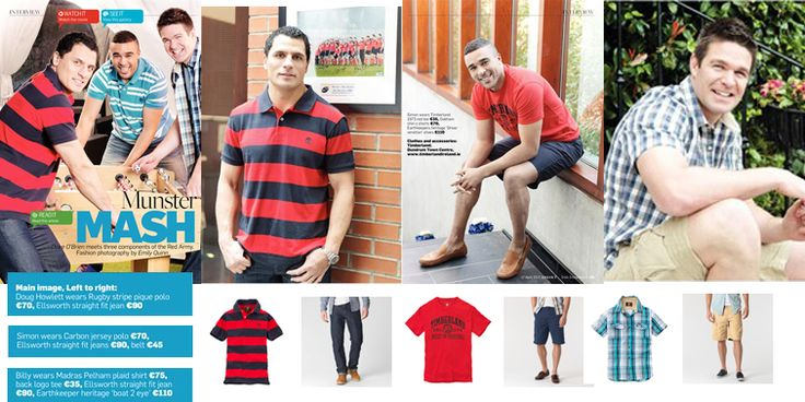 Munster Rugby on Location with Timberland