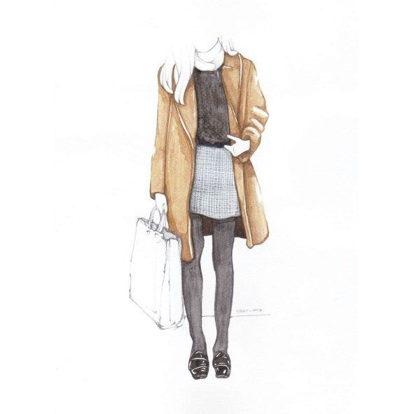 2  #watercolour #fashion #illustration #art #일러스트 #drawing