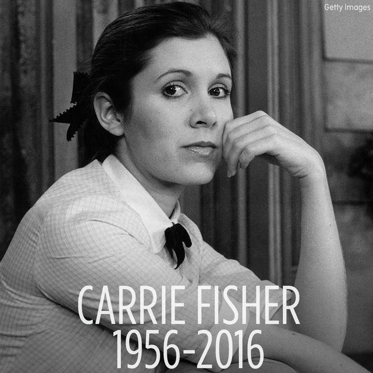 Rest in peace, Carrie Fisher. The iconic actress who played Princess Leia in Star Wars, has died at age 60. DETAILS: http://6abc.com/1674944