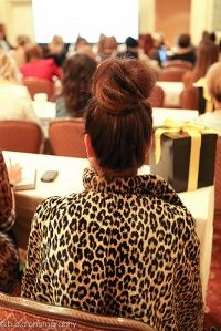 How to create the messy top knot from #altsummit (video)