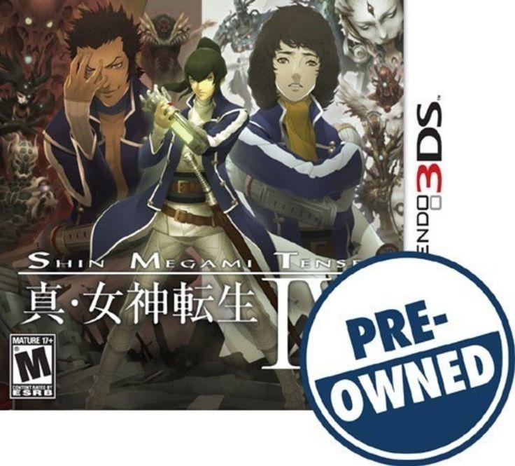 Shin Megami Tensei IV - PRE-Owned - Nintendo 3DS
