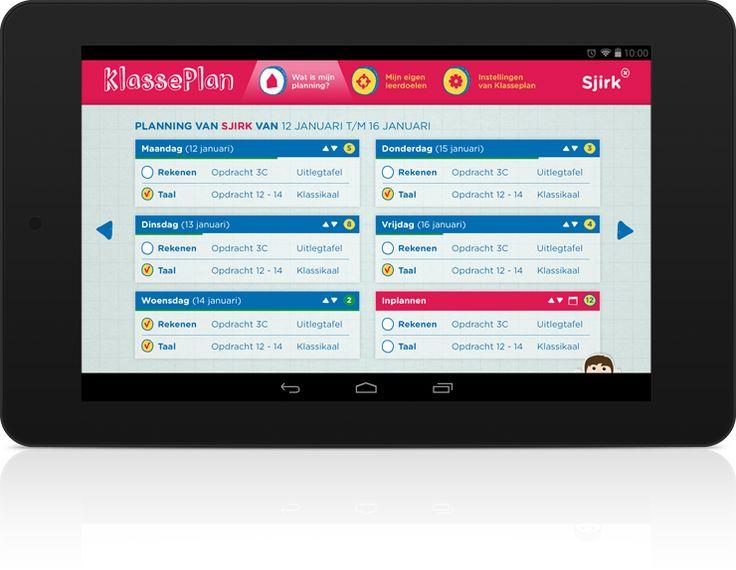 Handige app voor weektaken: Klasseplan #app #basisonderwijs