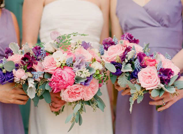 Garden delight: Sprays Rose, Bouquets With Purple Peonies, Wedding, Colors Schemes, Perti Flowers, Blog, Pink Peonies, Lovers Flowers, Colors Inspiration