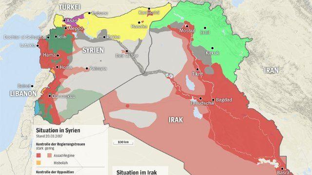 اللعبة الكبرى بدأ الصراعات على حكم شرق سوريا بعد دحر تنظيم الدولة الإسلامية Syrien Irak Islam