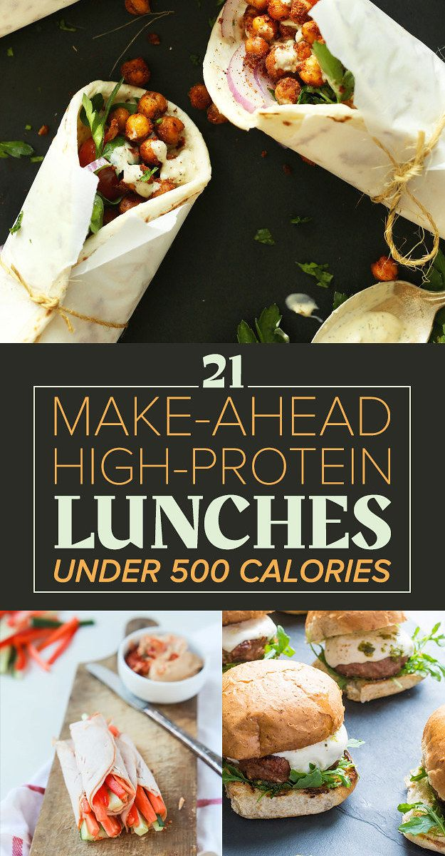 21 High-Protein Lunches Under 500 Calories | To be, The o ...