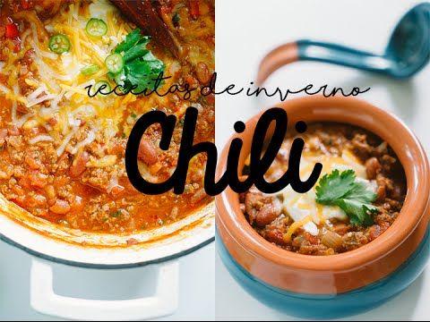 CHILI COM CARNE- Receitas de Inverno 01 - YouTube