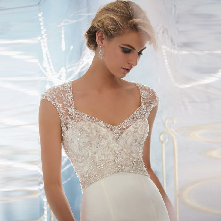 Fashionably Yours - Bernice Crystal Beaded Embroidery Overlaying Lustrous Satin By Mori Lee, Please call 02-9487 4888 for pricing (http://fashionably-yours.com.au/bernice-crystal-beaded-embroidery-overlaying-lustrous-satin-by-mori-lee/)