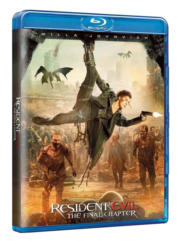 Resident Evil: The Final Chapter (Blu Ray Nuovo)