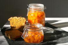 KÜRBIS SÜßSAUER: Eingelegter Kürbis schmeck prima zur Brotzeit, zu Bratkartoffeln oder als Beilage bei  einen veganen Herbstgrillabend.