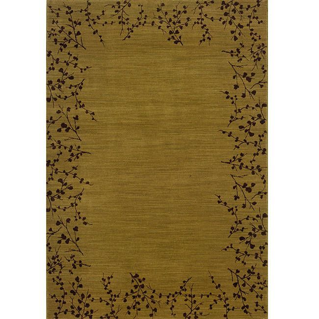 Style Haven Ellington /Brown Transitional Area Rug
