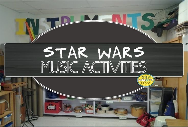 Star Wars activities for the music classroom