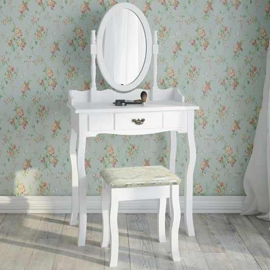 White Dressing Table Stool Vanity Bedroom Girl Furniture Vintage Mirror Drawer http://www.ebay.co.uk/itm/White-Dressing-Table-Stool-Vanity-Bedroom-Girl-Furniture-Vintage-Mirror-Drawer-/252391944135?hash=item3ac3bb6fc7:g:rxYAAOSwZetXOe4o
