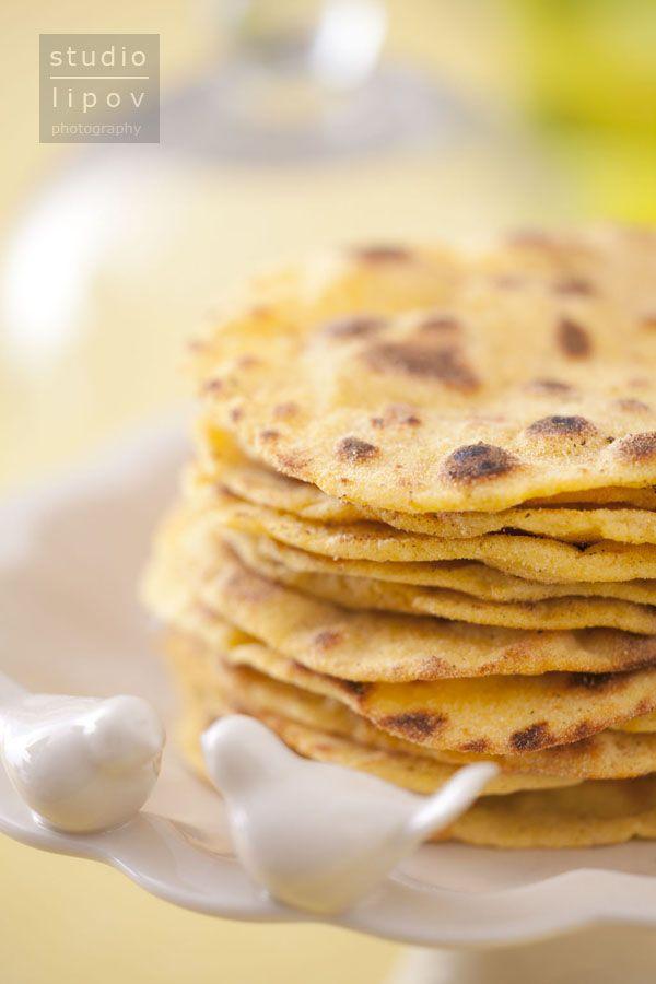 domowe tortille kukurydziane