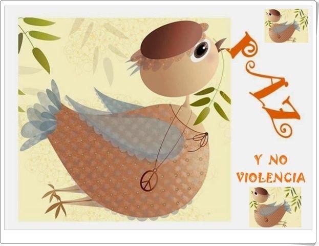 Diversos puzzles para celebrar el Día de la No Violencia y la Paz el día 30 de enero.