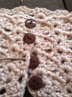 Cate Crochets: Adjustable Boot Cuffs Crochet Pattern--SHELL PATTERN BOOT CUFFS…PATTERN LOOKS EASY TO FOLLOW.