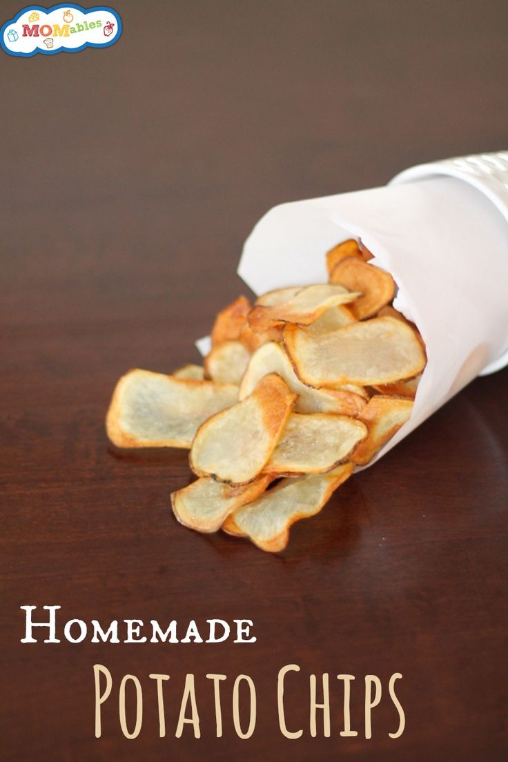 homemade potato chips - Can't wait to have these and dip them in my Homemade Ketchup!  Do you like ketchup on your potato chips? I LOVE it!