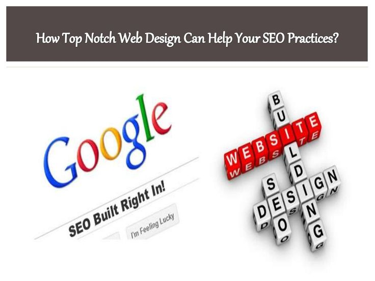 How Top Notch #SEO Can Come From #WebDesign – #Development #design #website