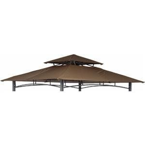 Replacement Gazebo Canopy by Pacific Casual - BGZ. $62.25. Vented double roof replacement gazebo canopy for model No. 5BGZ8217 SKU 821392. Fabric: 180 gm polyester with CAPI-84 fire retardant treatment. Color: Brown.