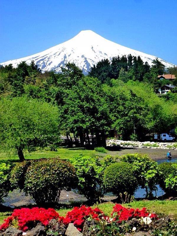 Volcán Villarrica, sur de Chile!