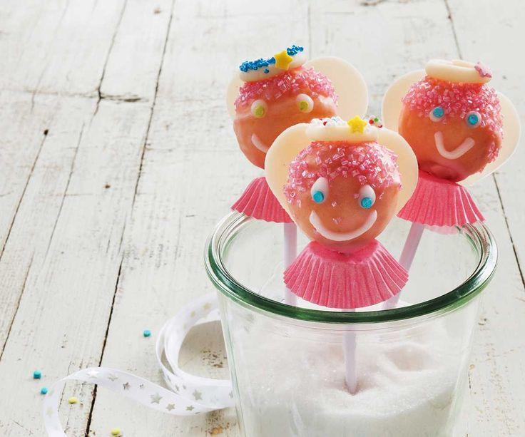 Cake-Pops-Engeli #Backen #Weihnachten #Rezept #Migros