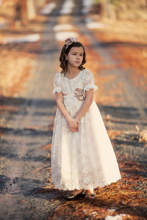 The Victoria Dress First Holy Communion Dress by ButterCreamDolls