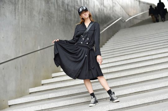 Women's Street Style by #Streetper  #fashion #fashionstyle #seoul #korea #womenswear #womensfashion #fall #fallstyle