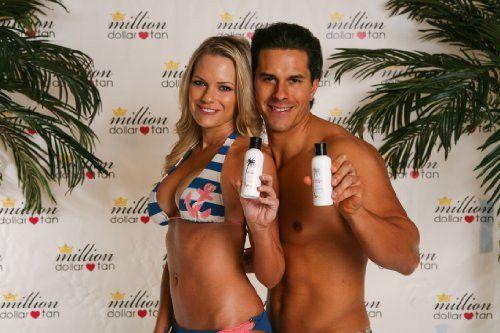 Million Dollar Tan's Cabana Tan Extreme Face - Sunless Tanning Lotion 4 oz. Bottle