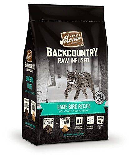 Merrick Grain Free Backcountry Game Bird Recipe Cat Food, 3 lb bag -- You can get additional details at the image link. (This is an affiliate link and I receive a commission for the sales)