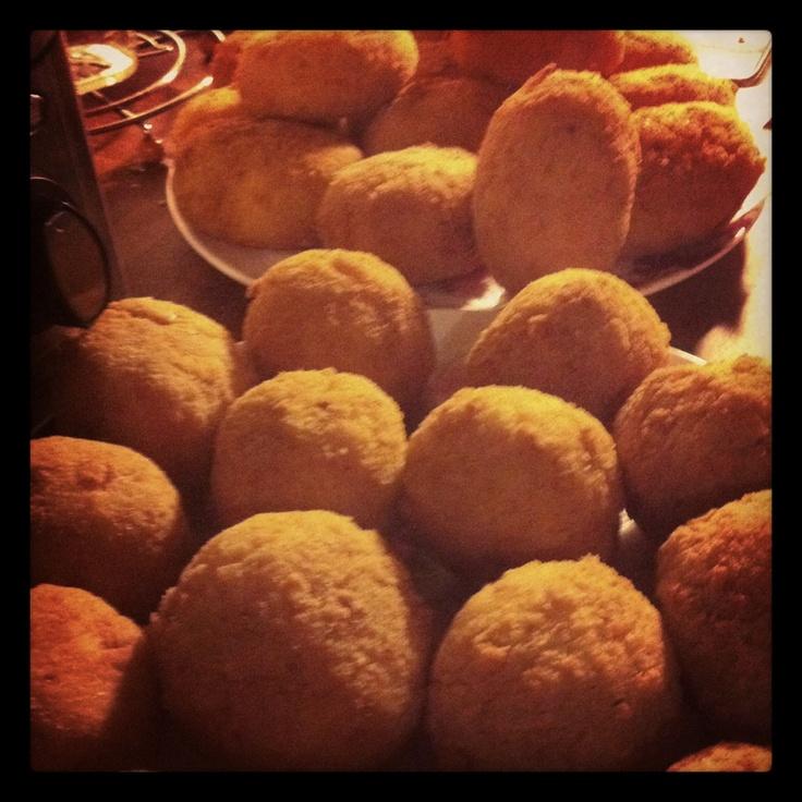 Arancine..Sicilian Food