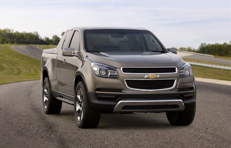 truck   GM has officially unveiled the Chevy Colorado Show Truck that is going ...