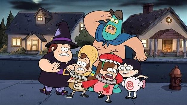 Gravity Falls Summerween episode