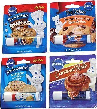 item 1996 pillsbury doughboy cookie flavored lip balm - Pillsbury Dough Boy Halloween Cookies