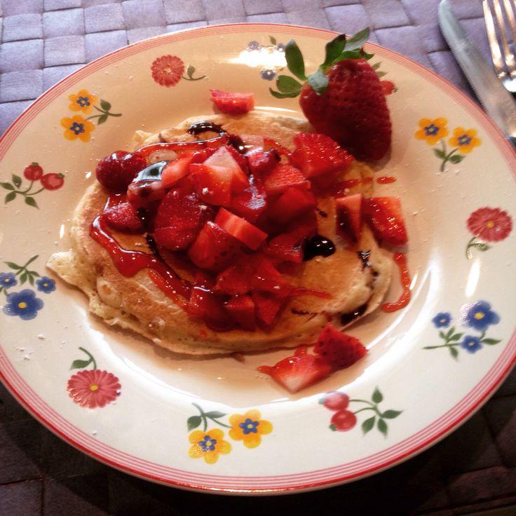 Pancake, at home
