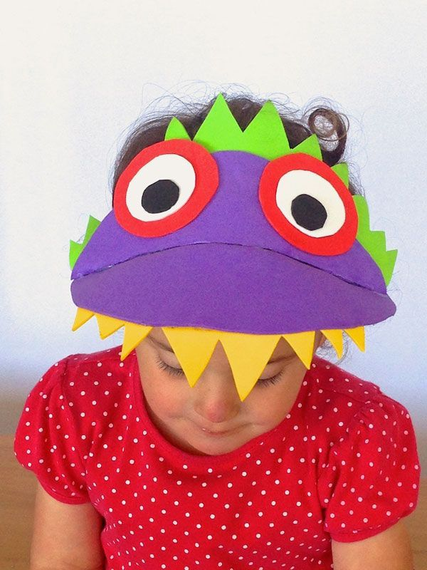 monster craft ideas make a hat with contributed by elisa 2503