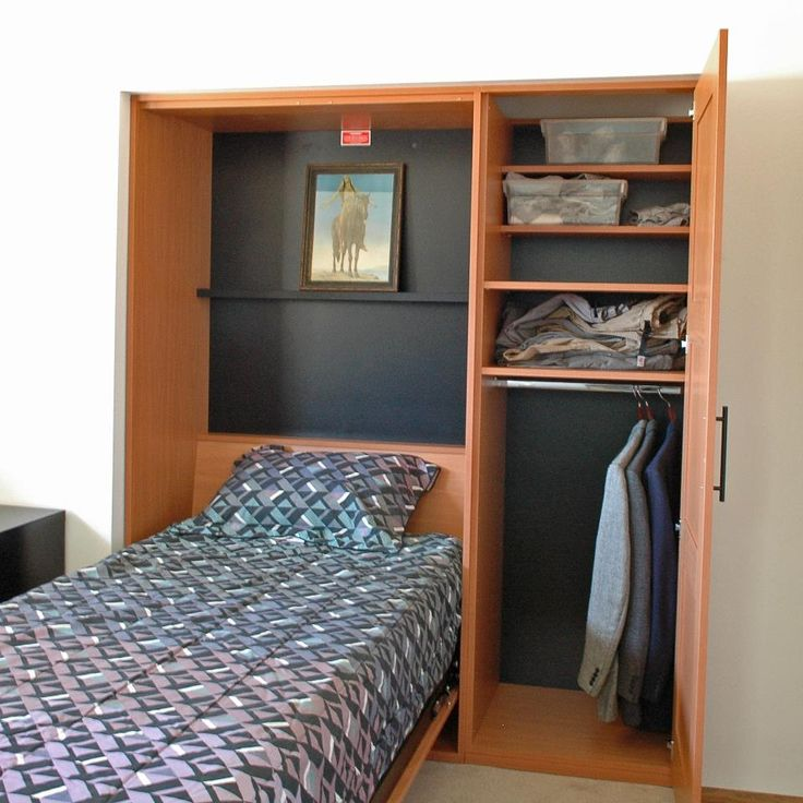 17 best images about murphy beds on pinterest night for Bunk beds in closet space