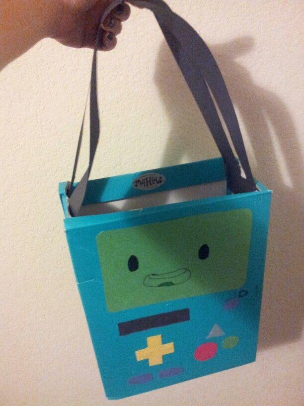 Diy BMO loot bag