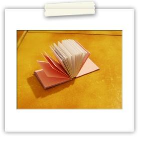 Ad revidendum hand-made notebook