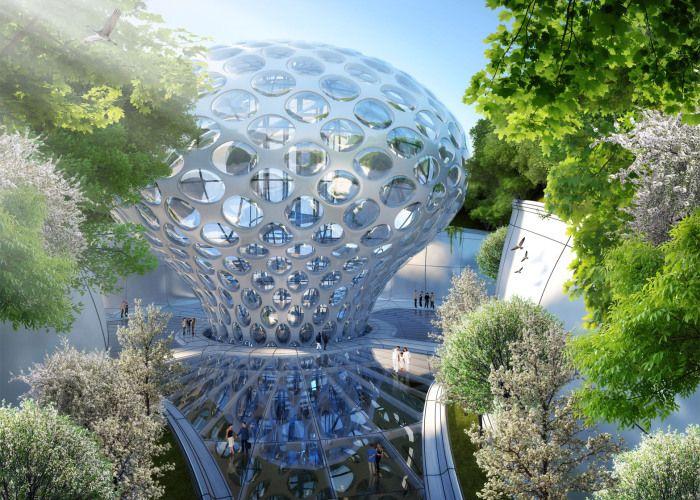 Аequorea - эко-город будущего