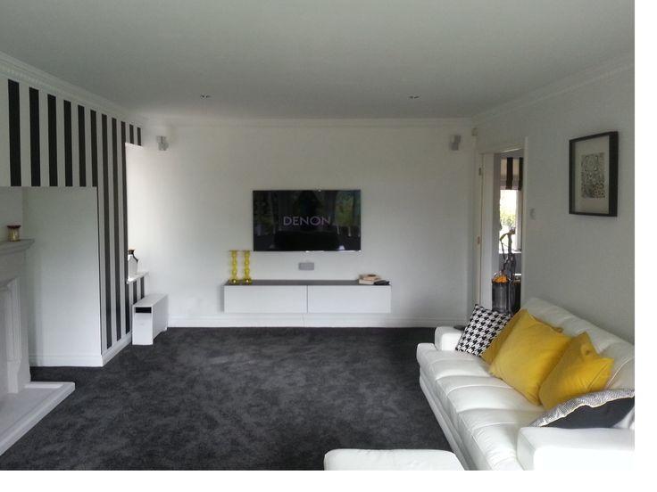 bespoke hidden cabling tv installation service complete. Black Bedroom Furniture Sets. Home Design Ideas
