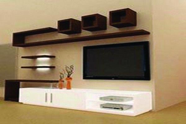 Aménagement Salon Meuble Tv Ba13, Wall Unit Furniture