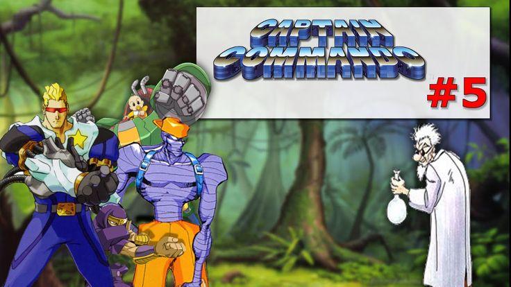 Captain Commando Stage#5 Sea Port|Old Fashion Gamer|   ¡Retro!  |Gamepla...