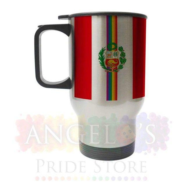 """TAZA MUG PLATEADA """"BANDERA NACIONAL PRIDE"""" Visita nuestro FANPAGE: http://www.facebook.com/AngelosPrideStore Ingresa a nuestros ÁLBUMES para conocer la variedad de productos que tenemos para ti #gay#les#less#lesbian#leca#tomboy #homo #gaylove #gayproducts#gaypride#proud #gaylook #rainbow #pride #equality#loveislove #telavivpride #lol #genderproud #lgbtrights #gayperu #lgbt #gaylima #gayosos #gaybear #bear #peruanogay #lgbtperu #OrgullosamenteVisible#angelospridestore"""