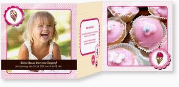 Kindergeburtstagseinladungen - Eisparty: Eisparty, Kindergeburtstagseinladungen, Products