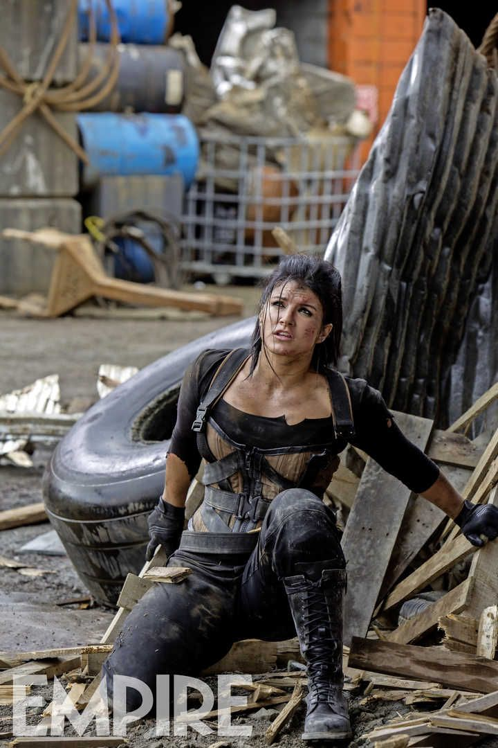 Gina Carano's Angel Dust Featured In New Deadpool Photo - Bleeding ...