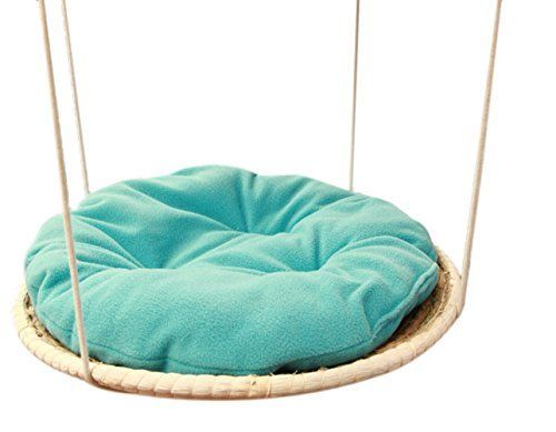 Chickle Hand Made Woven Cat House Bed Hanging Hammock Pet Supplies for Small Animal