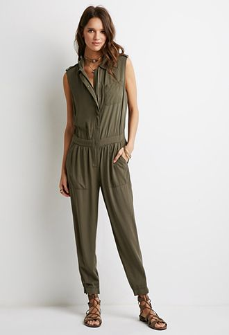 Classic Utility Jumpsuit | Forever 21 - 2000055562